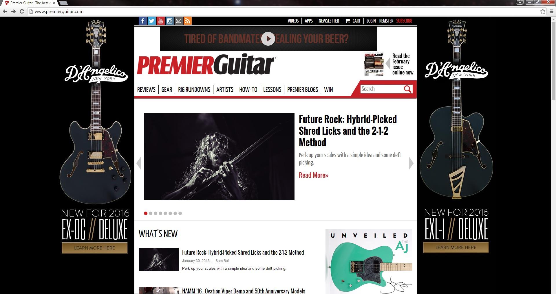 Premier Guitar Column!